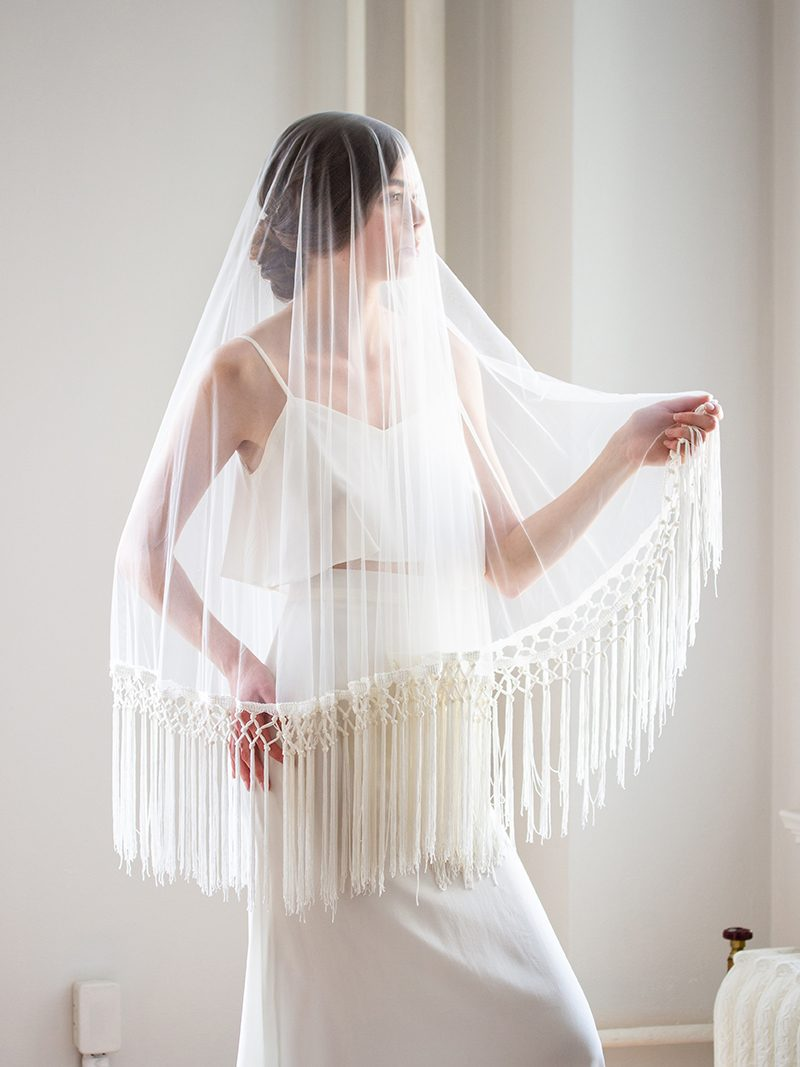 PASIPHAË VEIL, Bridal Accessories - Davie & Chiyo, Vancouver