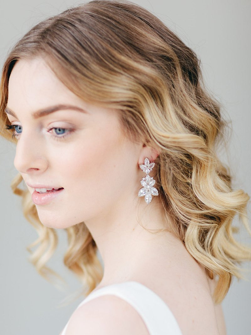 FIA EARRINGS, Bridal Accessories - Davie & Chiyo, Vancouver