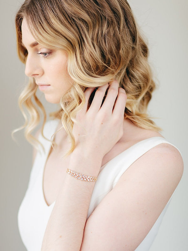 LAYLA BRACELET, Bridal Accessories - Davie & Chiyo, Vancouver
