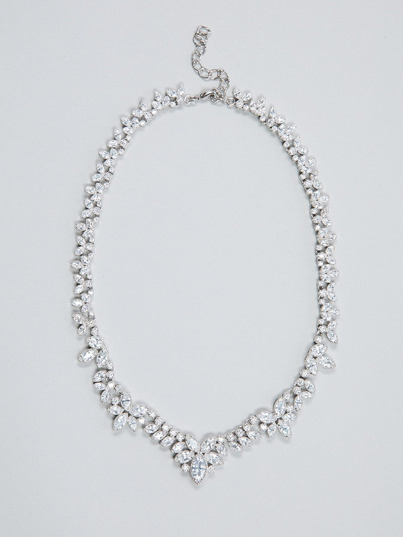 FIA NECKLACE, Bridal Accessories - Davie & Chiyo, Vancouver