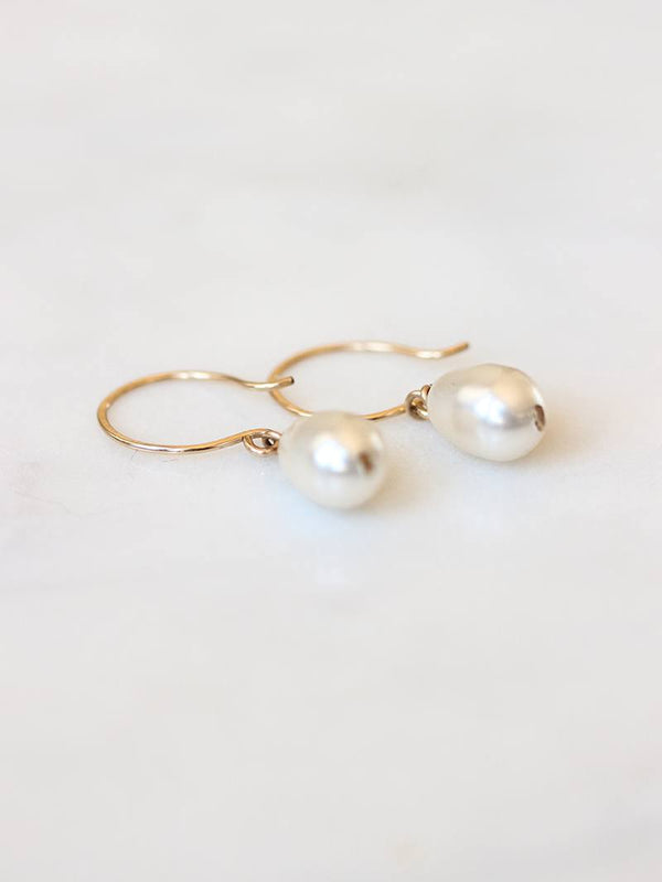 MOONDROP EARRINGS, Bridal Accessories - Davie & Chiyo, Vancouver