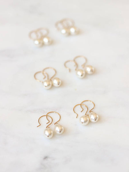 MOONDROP EARRING SET