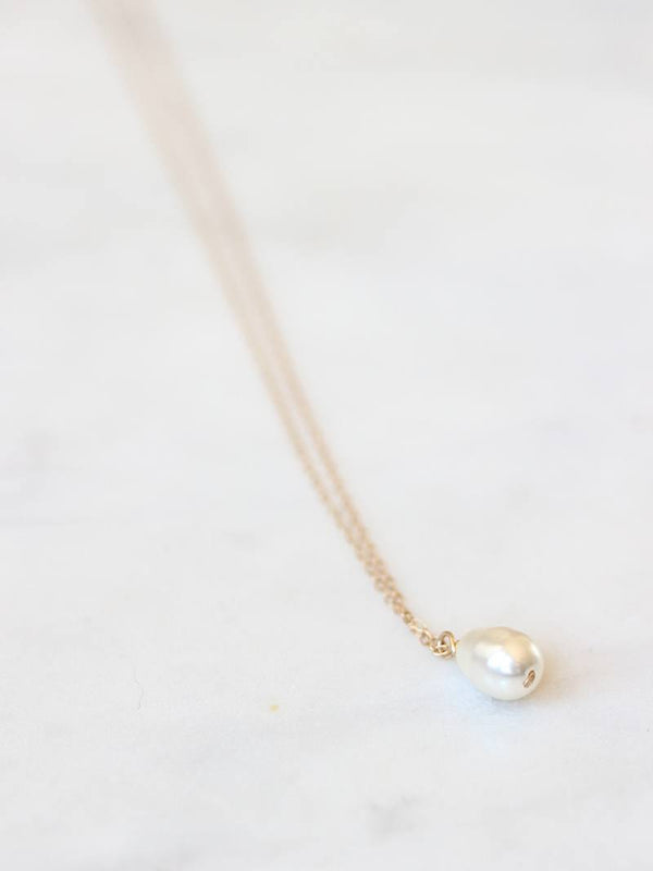 MOONDROP NECKLACE, Bridal Accessories - Davie & Chiyo, Vancouver