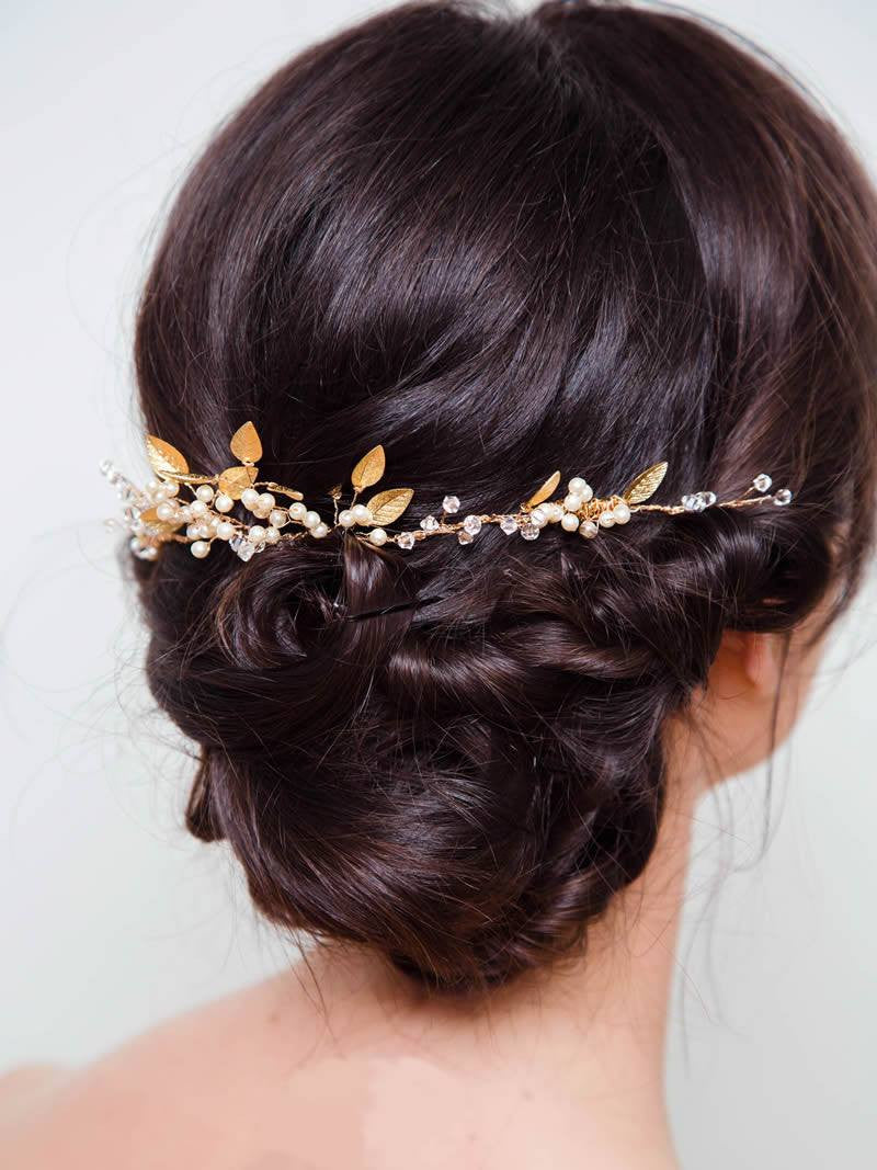 PALAIS HEADPIECE, Bridal Accessories - Davie & Chiyo, Vancouver