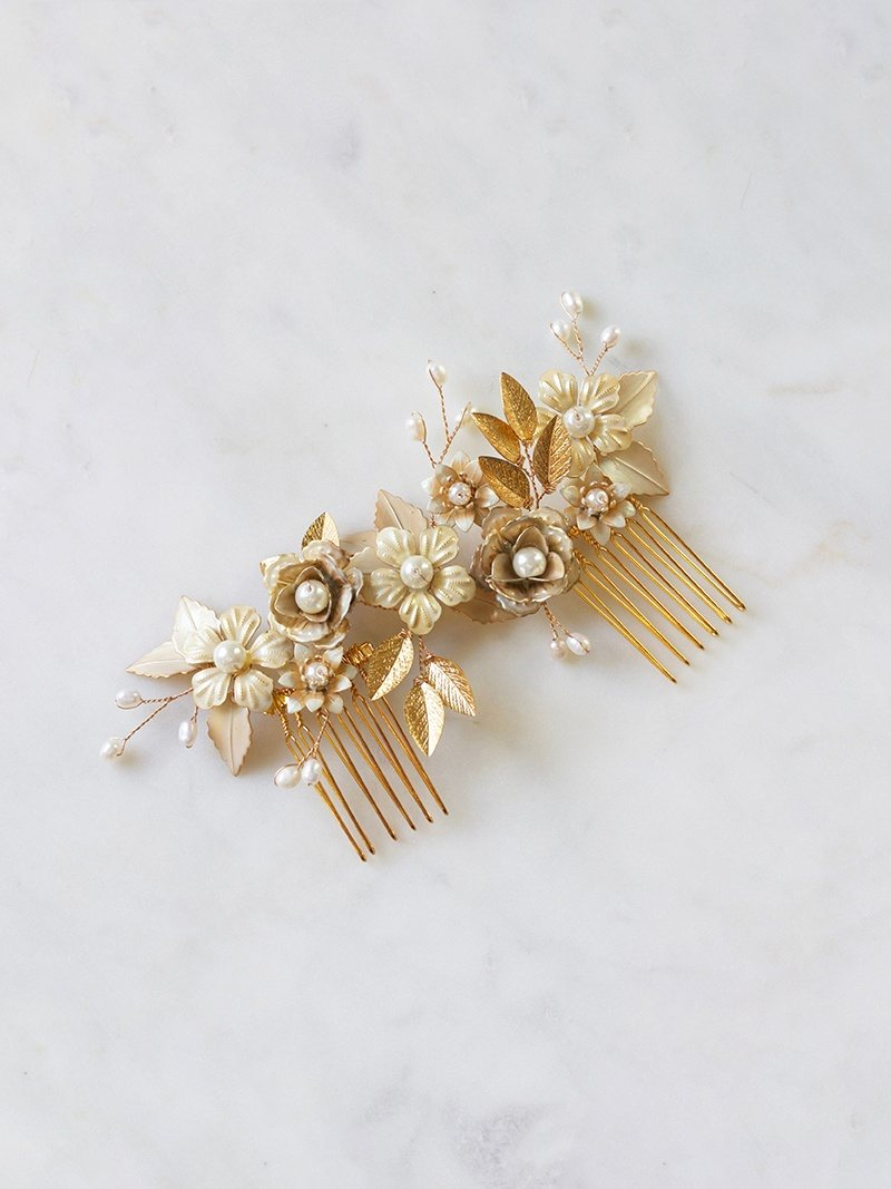 MARILYN HEADPIECE, Bridal Accessories - Davie & Chiyo, Vancouver