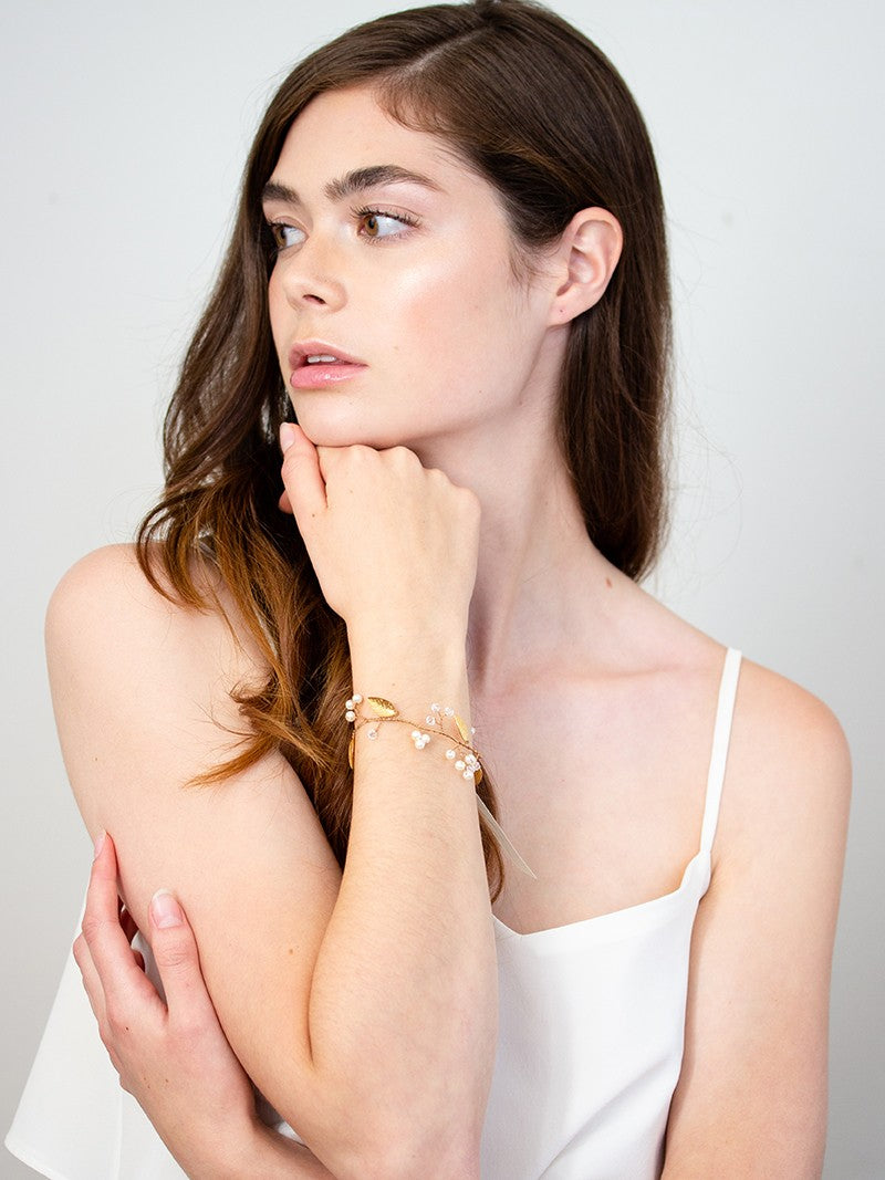 IVERNESS CUFF, Bridal Accessories - Davie & Chiyo, Vancouver