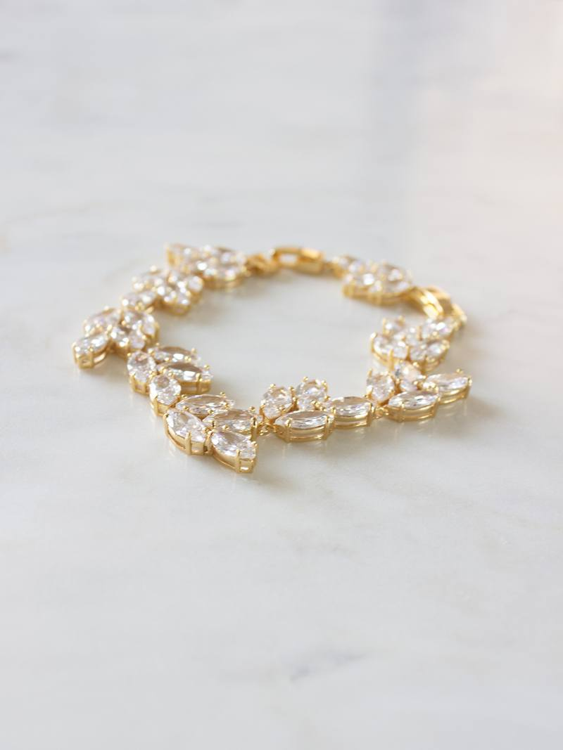 ALTHEA BRACELET, Bridal Accessories - Davie & Chiyo, Vancouver