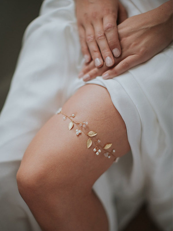 IVERNESS GARTER, Bridal Accessories - Davie & Chiyo, Vancouver
