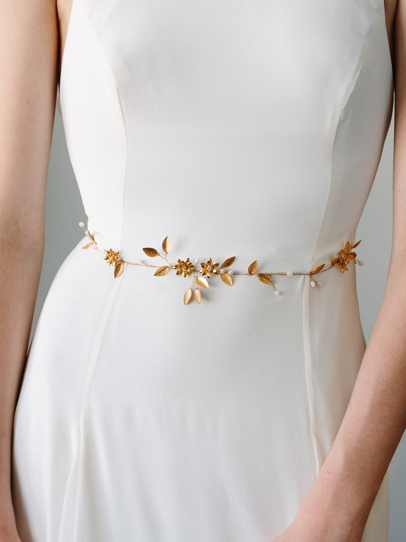 INDRA SASH, Bridal Accessories - Davie & Chiyo, Vancouver