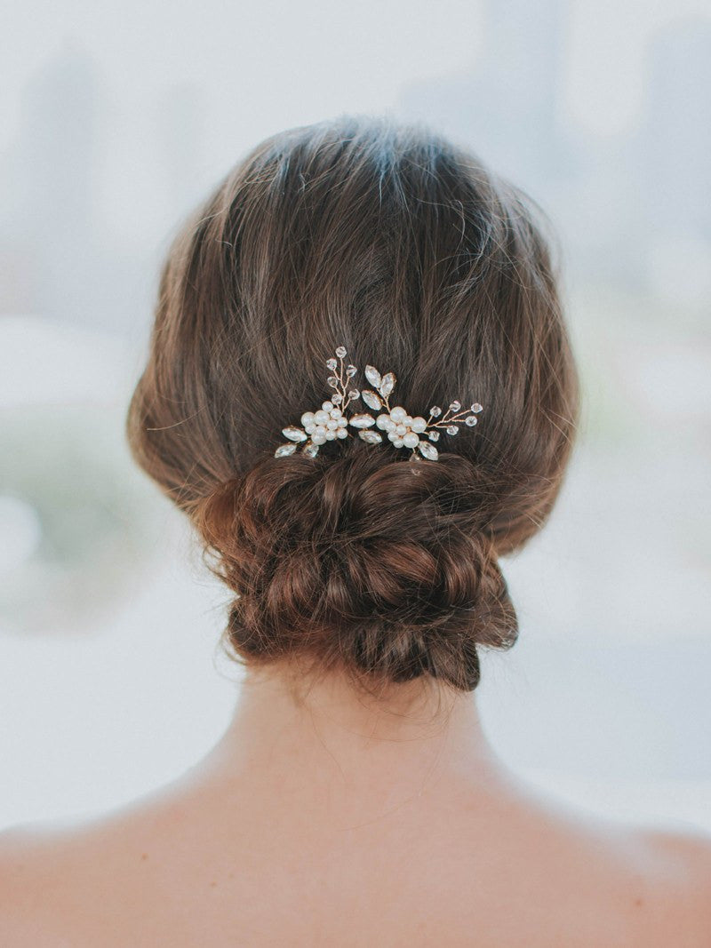 SENNA HAIRPIN, Bridal Accessories - Davie & Chiyo, Vancouver