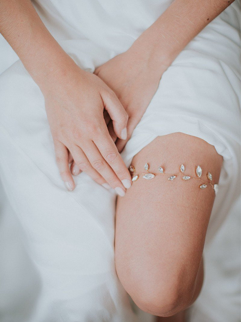 LIV GARTER, Bridal Accessories - Davie & Chiyo, Vancouver