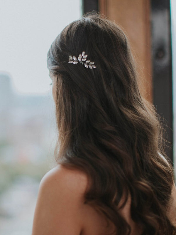 LIV HAIRPIN, Bridal Accessories - Davie & Chiyo, Vancouver
