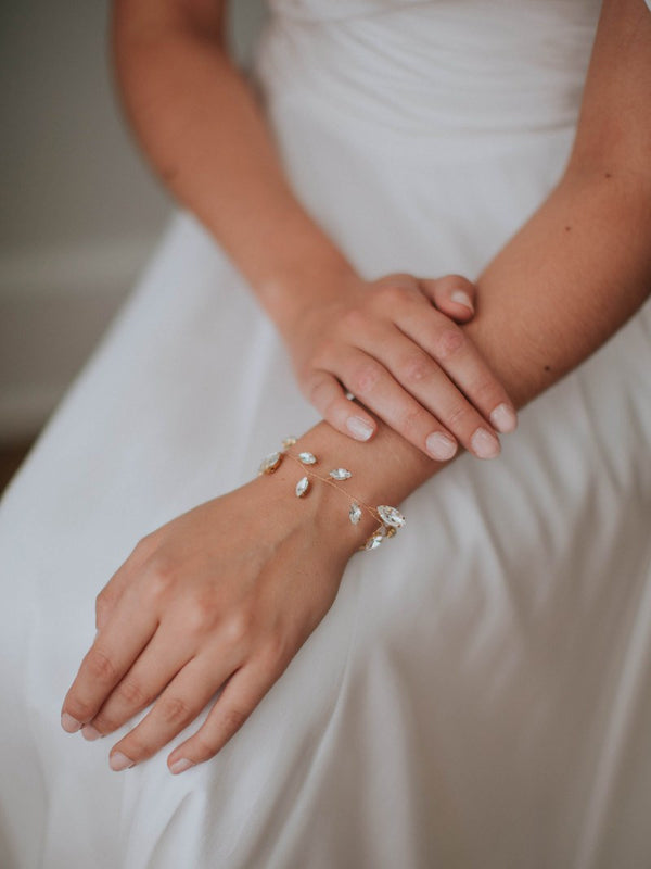 LIV CUFF, Bridal Accessories - Davie & Chiyo, Vancouver