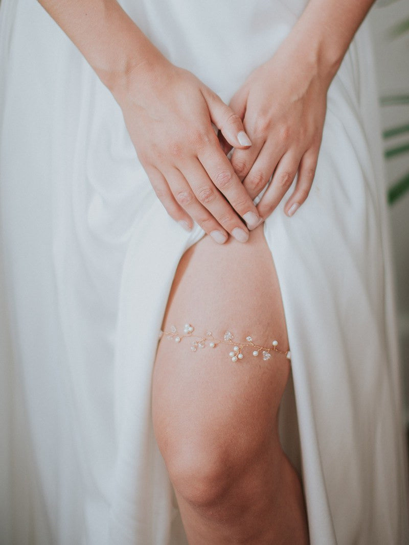 ILSE GARTER, Bridal Accessories - Davie & Chiyo, Vancouver