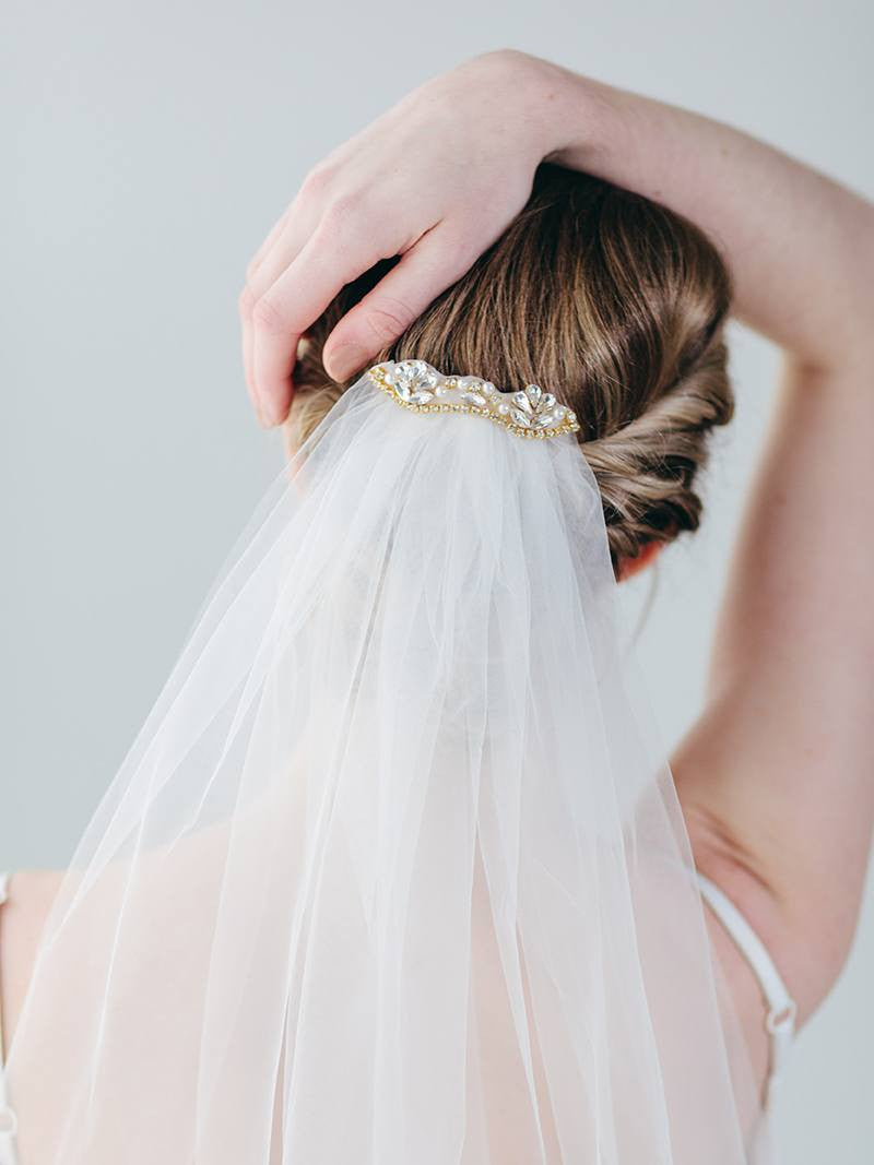 PIPPA VEIL, Bridal Accessories - Davie & Chiyo, Vancouver