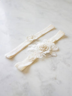COLETTE GARTER, Bridal Accessories - Davie & Chiyo, Vancouver