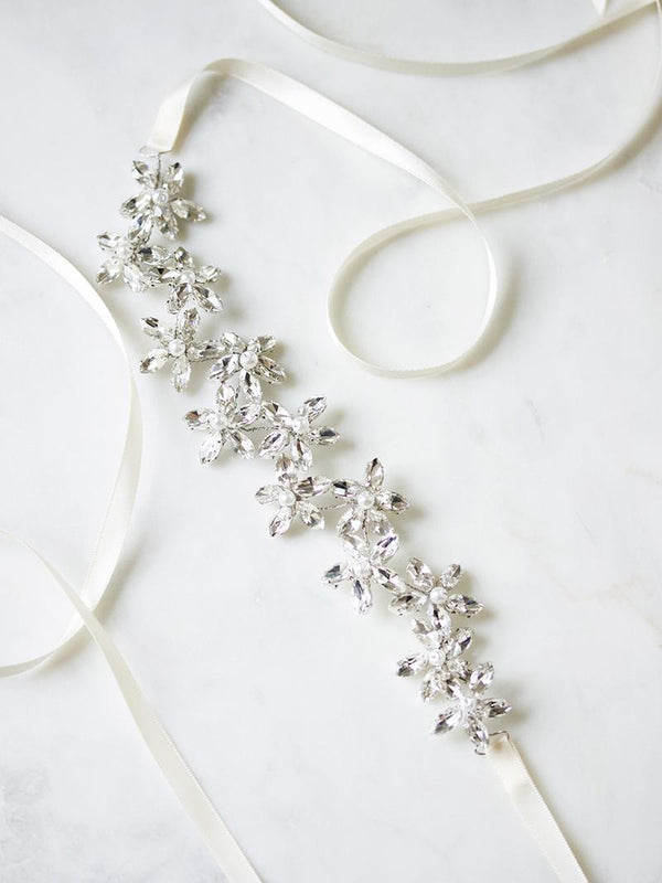 EDIE SASH, Bridal Accessories - Davie & Chiyo, Vancouver