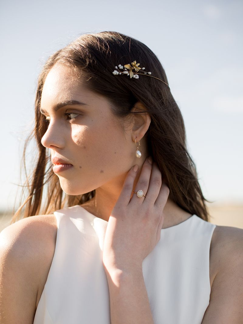 INDRA HAIRPIN, Bridal Accessories - Davie & Chiyo, Vancouver
