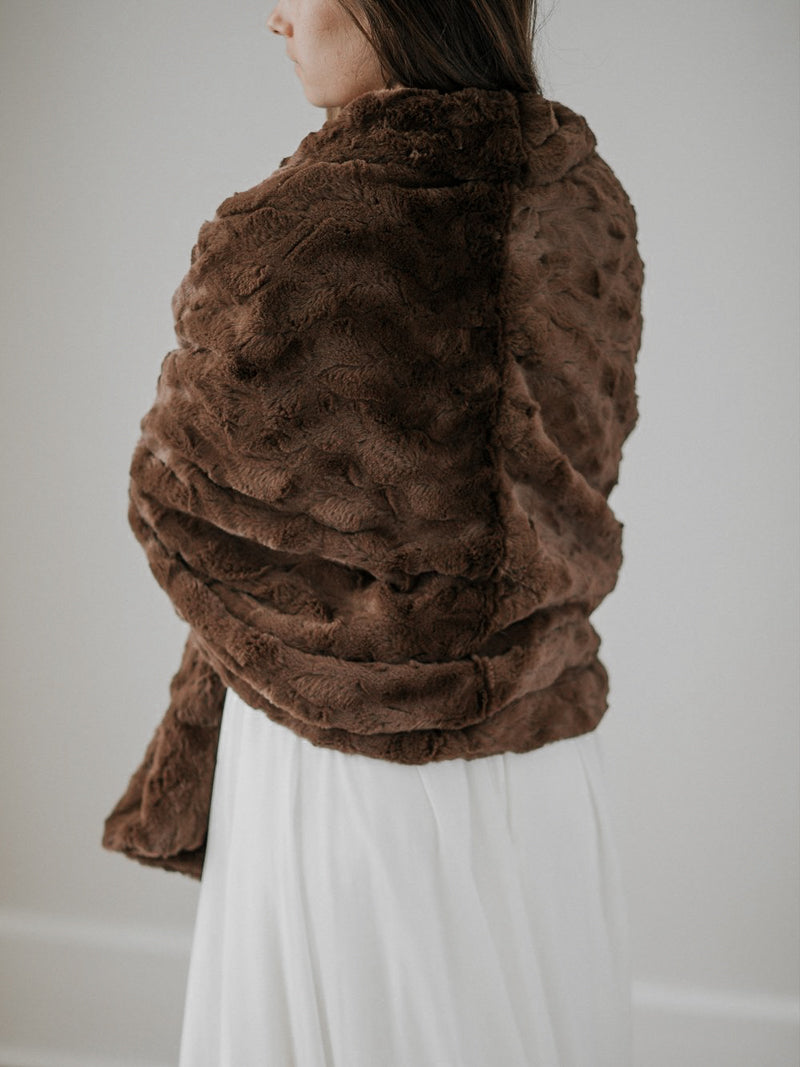 YORKSHIRE FUR SHAWL