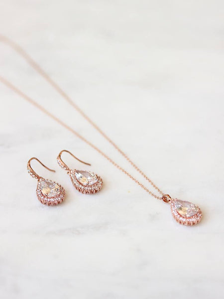 CATHERINE EARRING & NECKLACE SET