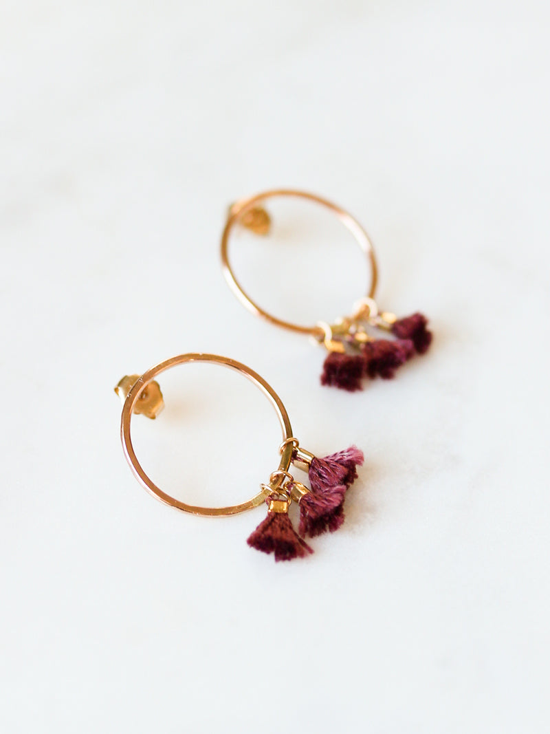 ADINA TASSEL EARRINGS