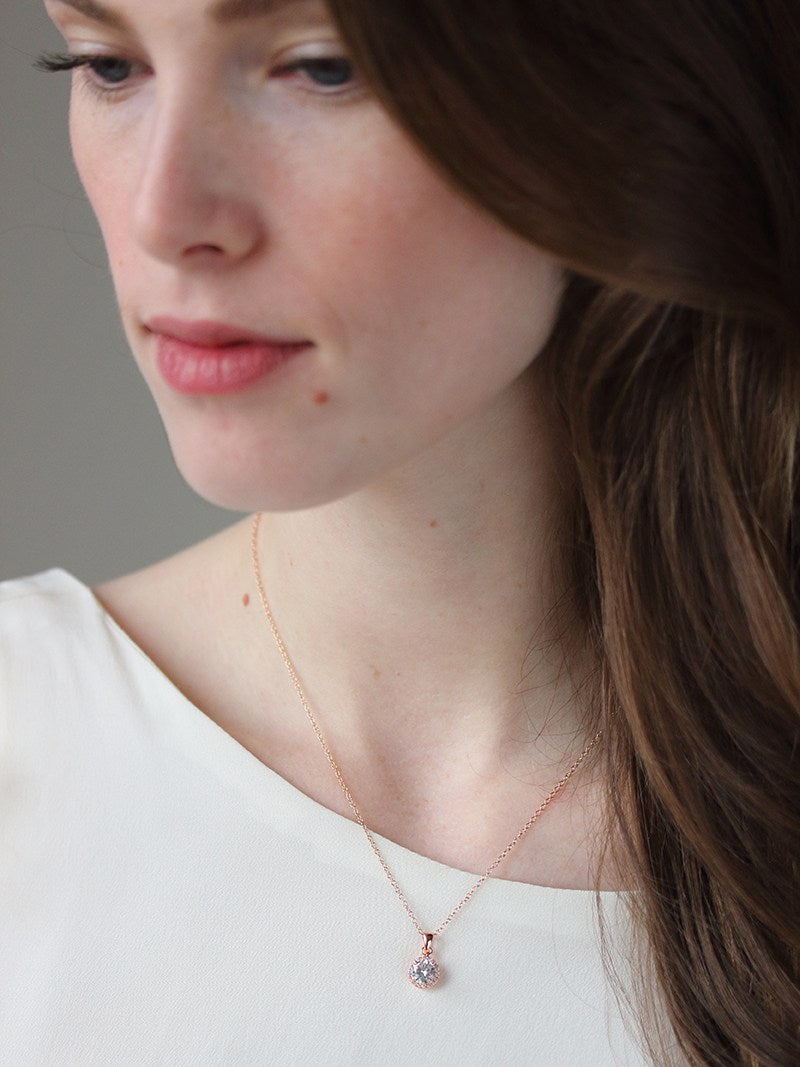 MIA NECKLACE, Bridal Accessories - Davie & Chiyo, Vancouver