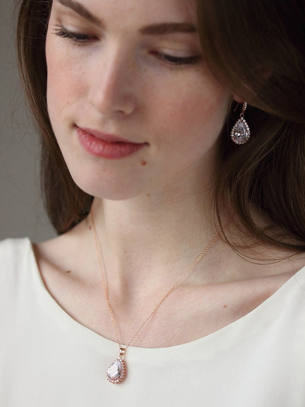 CATHERINE NECKLACE, Bridal Accessories - Davie & Chiyo, Vancouver