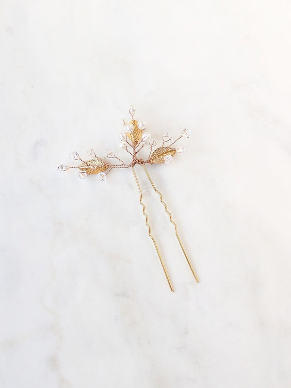 IVERNESS HAIRPIN, Bridal Accessories - Davie & Chiyo, Vancouver