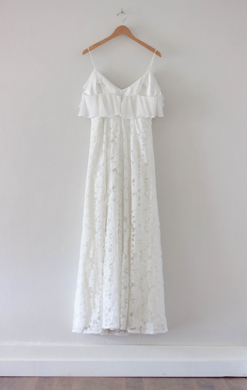 Rianne Dress Sample in Ilaria Lace