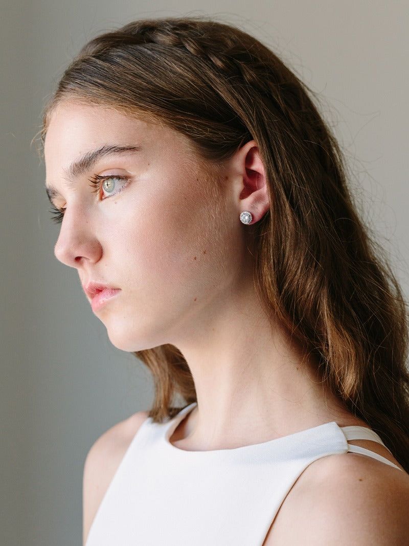 MIA EARRINGS, Bridal Accessories - Davie & Chiyo, Vancouver