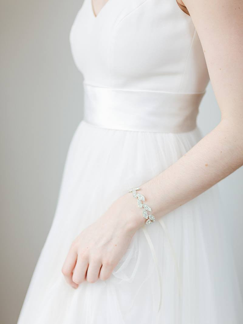 GILDED IVY CUFF, Bridal Accessories - Davie & Chiyo, Vancouver