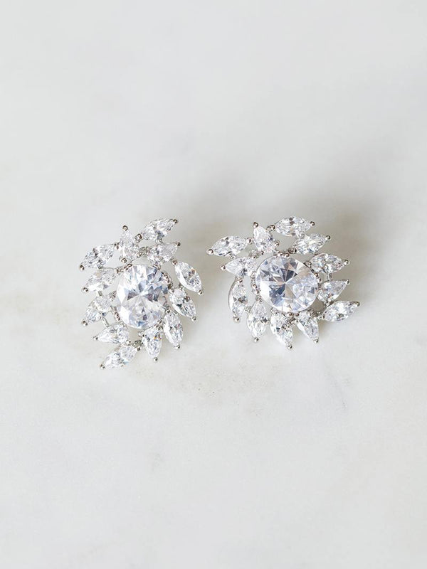 MOONSTONE EARRINGS, Bridal Accessories - Davie & Chiyo, Vancouver