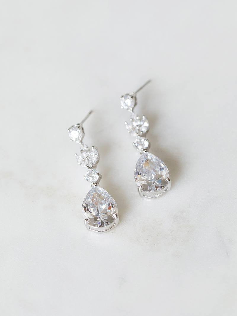 ELIZA EARRINGS, Bridal Accessories - Davie & Chiyo, Vancouver