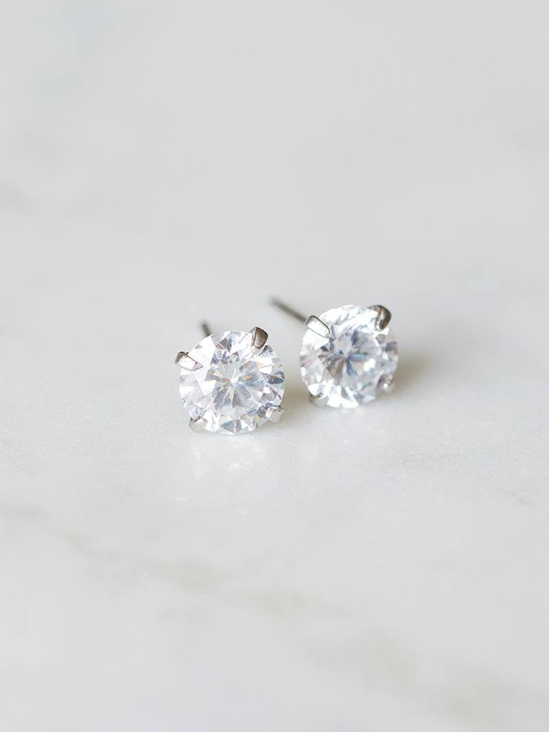 ZAIRA EARRINGS, Bridal Accessories - Davie & Chiyo, Vancouver
