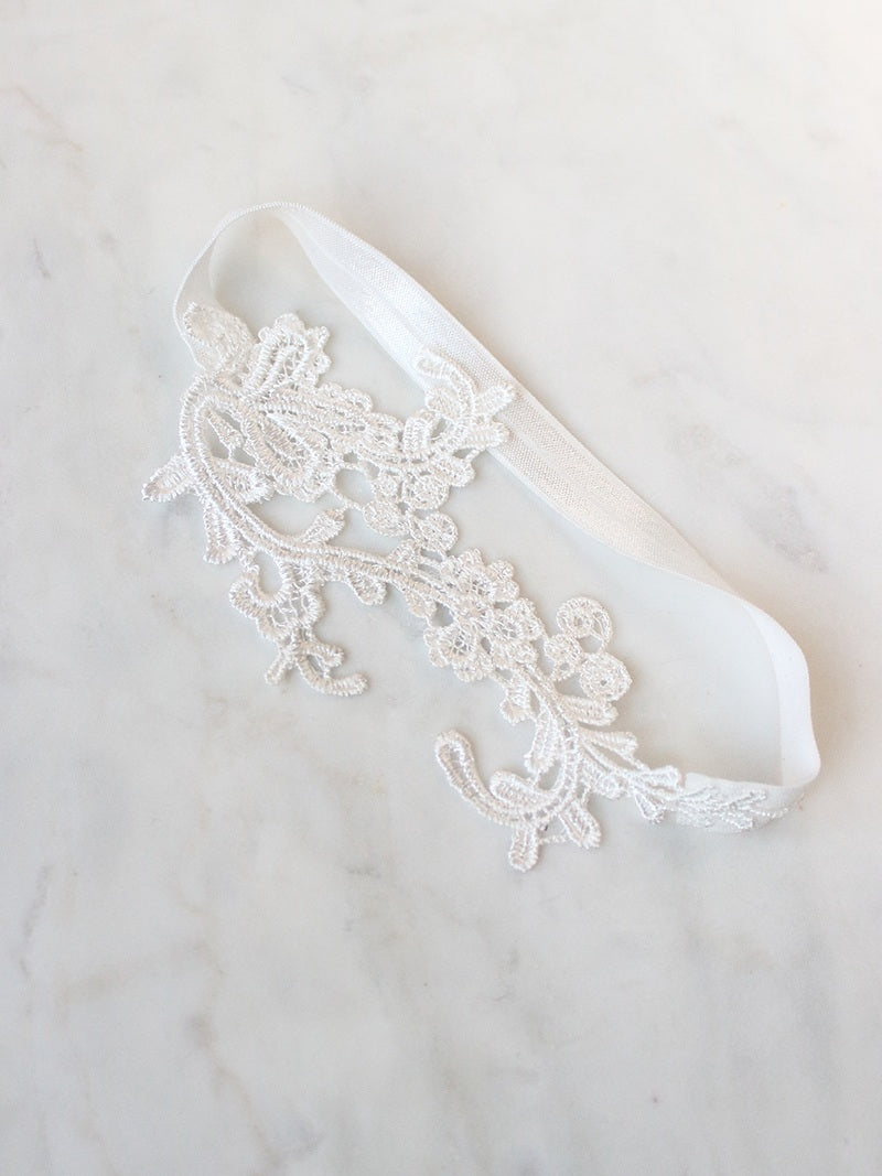 SKYE GARTER, Bridal Accessories - Davie & Chiyo, Vancouver