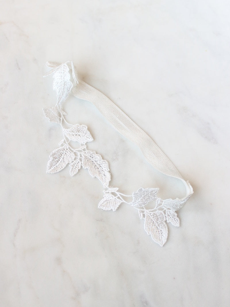 EVA GARTER, Bridal Accessories - Davie & Chiyo, Vancouver