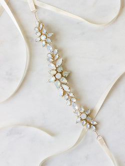 ASTRAEA SASH, Bridal Accessories - Davie & Chiyo, Vancouver