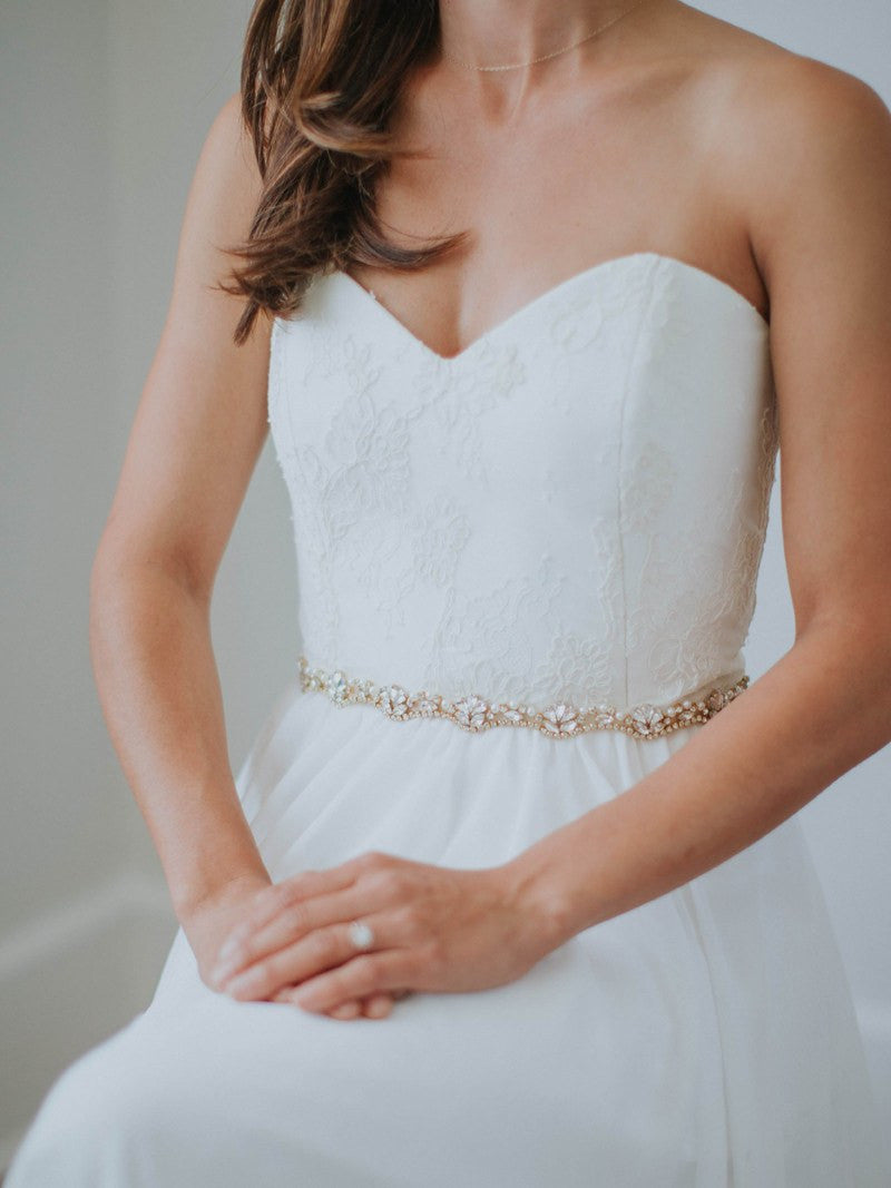PIPPA SASH, Bridal Accessories - Davie & Chiyo, Vancouver