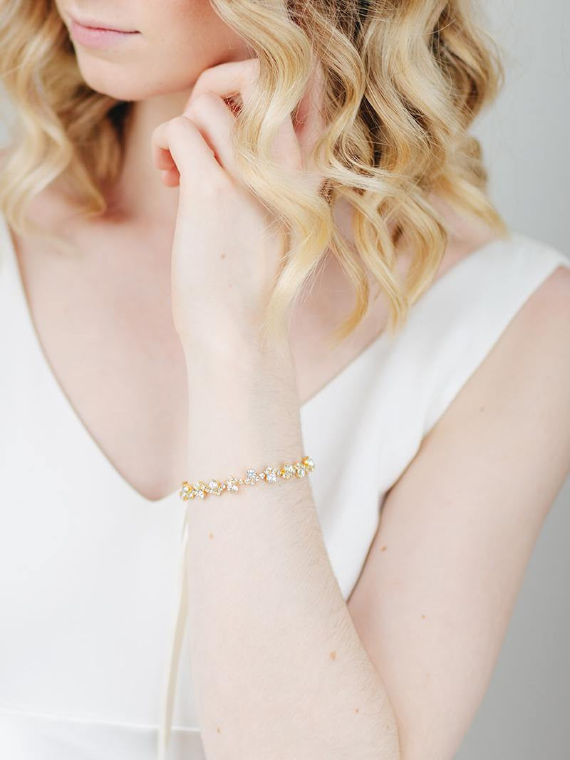 CLEO CUFF, Bridal Accessories - Davie & Chiyo, Vancouver