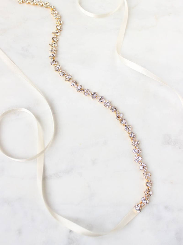 CLEO SASH, Bridal Accessories - Davie & Chiyo, Vancouver