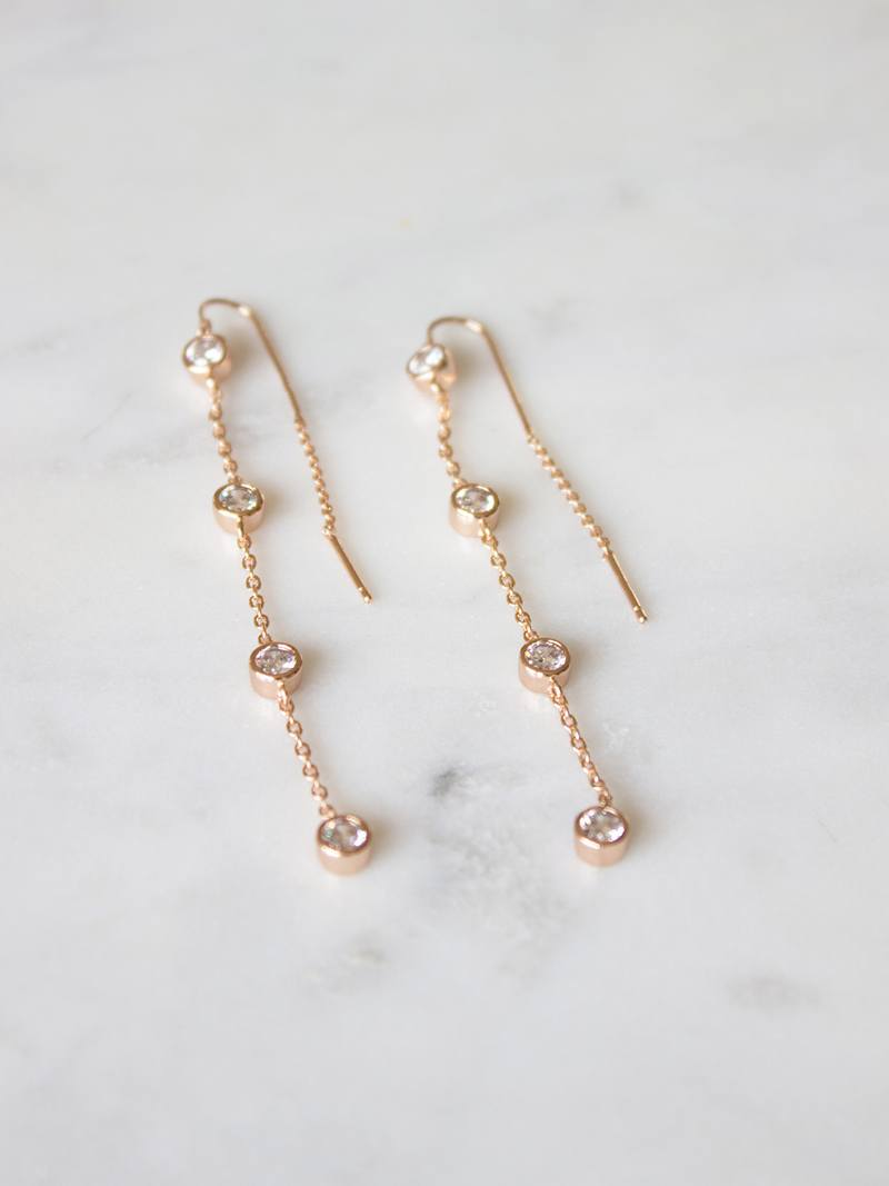 STARLING EARRINGS, Bridal Accessories - Davie & Chiyo, Vancouver