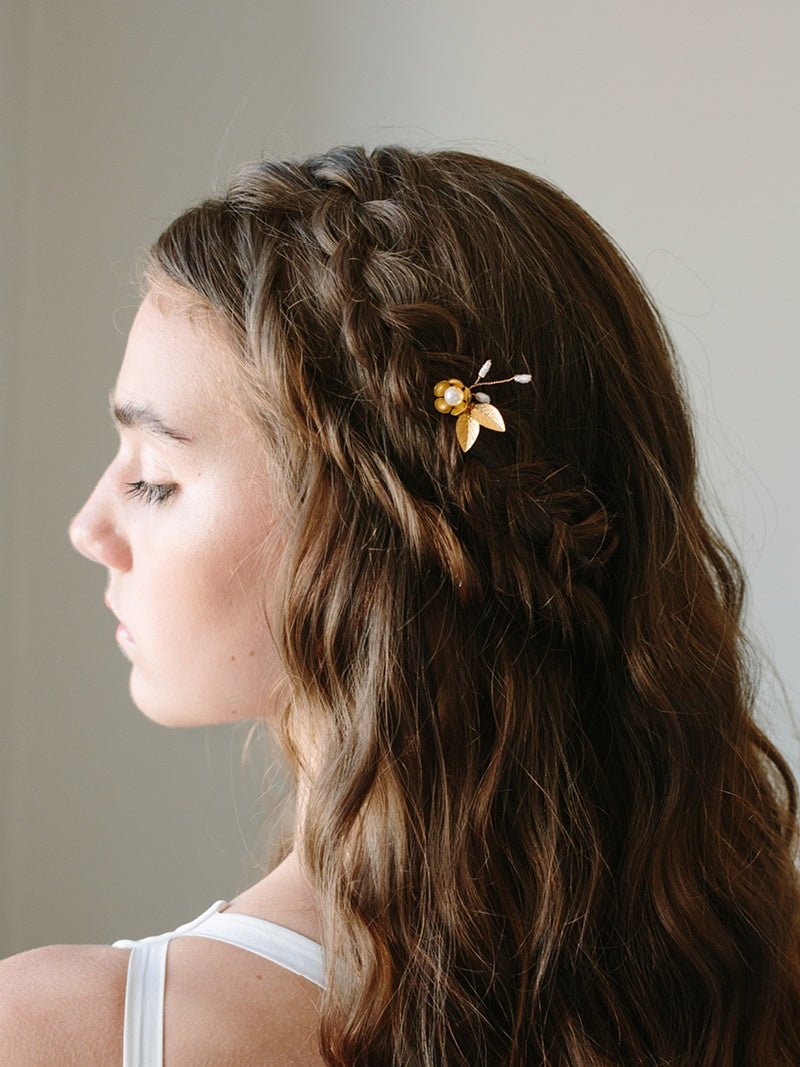 PETITE EDEN HAIRPIN, Bridal Accessories - Davie & Chiyo, Vancouver