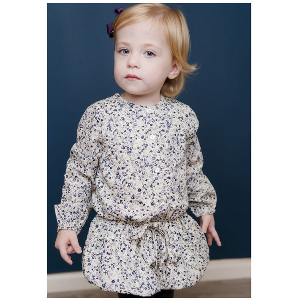 Bluebells Winter Playsuit
