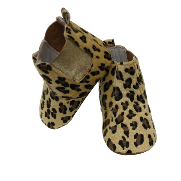 Cheetah High-Top Booties
