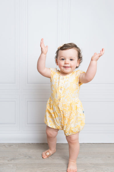 Lemon Burst Balloon Onesie