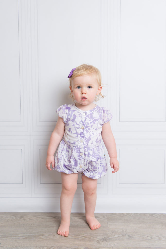 Summer Lilac Balloon Onesie