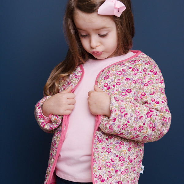 Wild Sweetpea Reversible Jacket