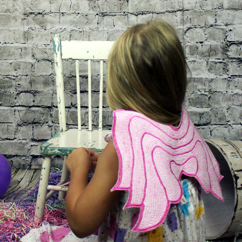 Fuchsia Angel Wings
