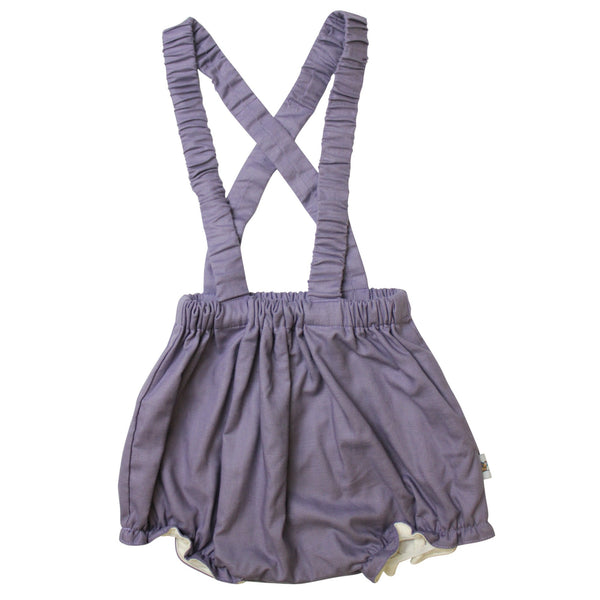 Grape Overall Bloomers