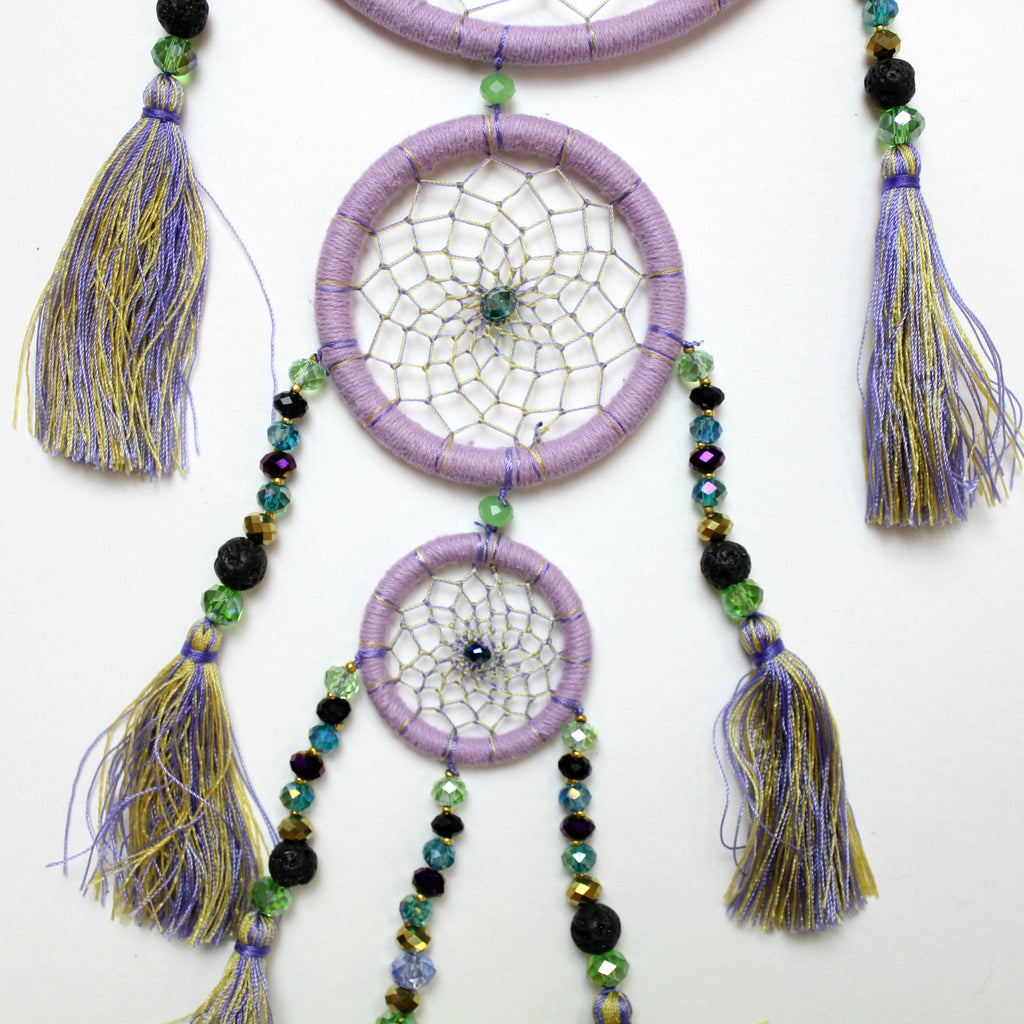 Lilac Whimsical Dream Catcher